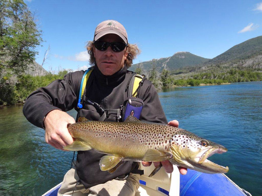 Fly fishing in patagonia argentina r o manso lodge for Fishing in argentina